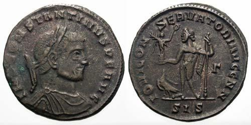 Ancient Coins - gF/aVF Constantine the Great / Jupiter