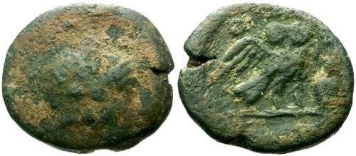 Ancient Coins - gF/aVF Attica Athens AE20 / Owl