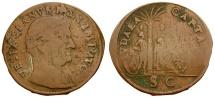 World Coins - Germany. Nuremburg. Minted by Hans Krauwinkel . Vespasian Imitative Judaea Capta Æ Jeton