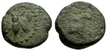 Ancient Coins - Ionia.  Ephesos Æ10 / Bee