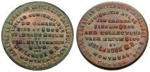 World Coins - Canada. Montreal. Joseph Leroux M.D. Medaillier Æ Token