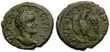 Septimius Severus. Thrace. Augusta Traiana Æ19 / Eagle