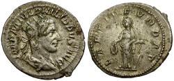 Ancient Coins - Philip I AR Antoninianus / Laetitia