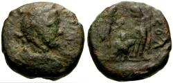Ancient Coins - Antoninus Pius, Judaea, Aelia Capitolina (Jerusalem) Æ22 / Dioscuri and Eagle