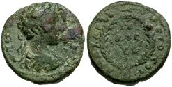 Ancient Coins - Commodus. Cilcia. Anazarbus Æ20 / Wreath