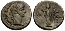 Ancient Coins - Nero. Egypt. Alexandria Billon Tetradrachm / Eirene