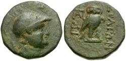 Ancient Coins - Cilicia. Soloi Æ18 / Owl