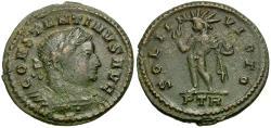Ancient Coins - Constantine I the Great (AD 306-337) Æ Half Follis / Sol