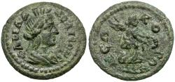 Ancient Coins - Lydia. Philadelphia. Pseudo-Autonomous Æ19 / Nike
