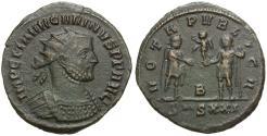 Ancient Coins - Carinus (AD 283-285) Æ Antoninianus / VOTA