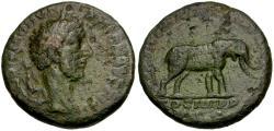 Ancient Coins - Commodus (AD 177-192) Æ AS / Elephant