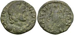 Ancient Coins - Lydia. Saitta. Pseudo-Autonomous Æ19 / Dionysos