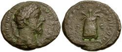 Ancient Coins - Marcus Aurelius Æ AS / Modius