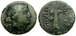 Ancient Coins - Thrace. Mesembria Æ22 / Athena