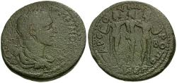 Ancient Coins - Maximinus I (AD 235-238). Cilicia. Tarsus Æ38 / Three Graces