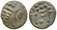 Ancient Coins - Celtic Tribes of Britain. Durotriges AR Stater / Apollo and Horse