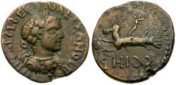 Ancient Coins - Severus Alexander (AD 222-235). Mysia. Parium Æ21 / Capricorn