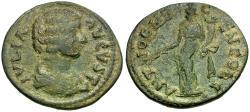 Ancient Coins - Julia Domna. Pisidia. Antioch Æ24 / Tyche