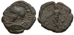 Ancient Coins - Gordian III. Thrace. Deultum Æ18 / Apollo
