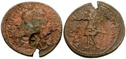 Ancient Coins - Trebonianus Gallus, Cilicia Tarsos Æ33 / Artemis