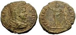 Ancient Coins - aVF/aVF Caracalla, Serdica Æ30 / Serapis