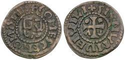 World Coins - France. Maine. Herbert I (1015-1035) AR Denier