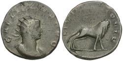 Ancient Coins - Gallienus, Joint Regin (AD 253-260) AR Legionary Antoninianus / Bull