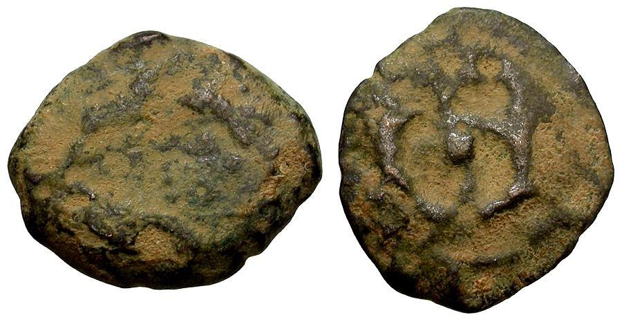 Ancient Coins - Alexander Jannaeus Æ Prutah