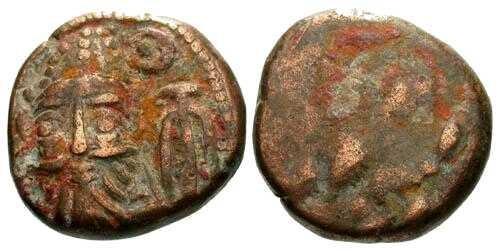 Ancient Coins - aVF/aF Elymais AE Drachm Orodes II