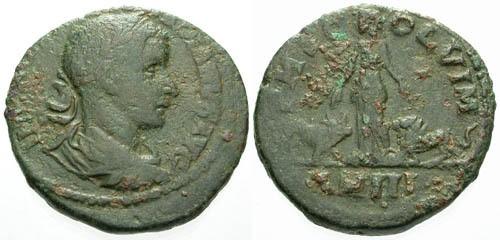 Ancient Coins - F/F Gordian III AE28 Viminacium