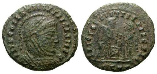 Ancient Coins - Constantine the Great Barbarous Copy