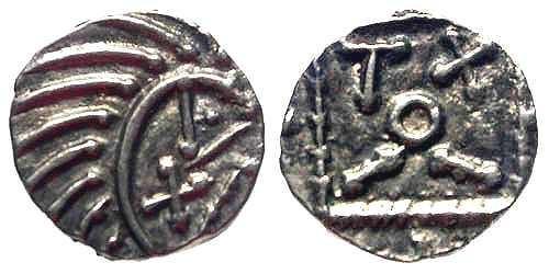 Ancient Coins - EF/EF Anglo Saxon Porcupine AR Sceat
