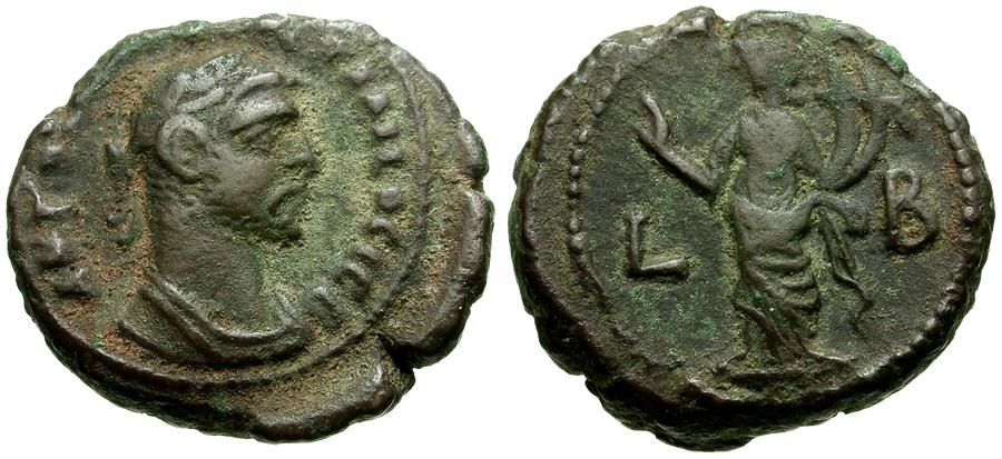 Ancient Coins - Diocletian.  Egypt, Alexandria Æ Tetradrachm / Homonoia