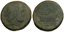 Ancient Coins - after 211 BC - Roman Republic Anonymous Æ AS