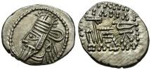 Ancient Coins - Kings of Parthia.  Osroes II. Ekbatana mint AR Drachm / Archer