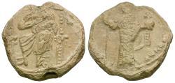 Ancient Coins - Alexius I Commenus (AD 1081-1118) Pb Seal
