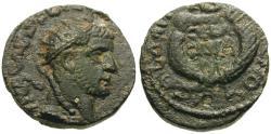Ancient Coins - Gallienus (AD 253-268) Colela. Damascus Æ19