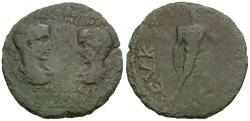 Ancient Coins - Maximinus I Thrax (AD 235-238) with Maximus Caesar. Phrygia. Eucarpea Æ28