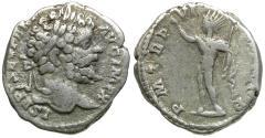 Ancient Coins - Septimius Severus (AD 193-211) AR Denarius / Sol