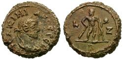 Ancient Coins - Maximianus. Egypt. Alexandria Æ Tetradrachm / Herakles