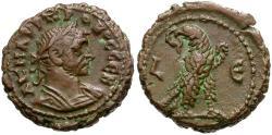 Ancient Coins - Probus. Egypt. Alexandria BI Tetradrachm / Eagle