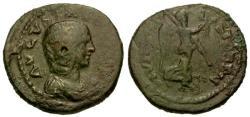 Ancient Coins - gF/gF Julia Domna AE24 Macedonia Stobi / Nike