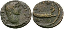 Ancient Coins - Ionia. Smyrna. Pseudo-autonomous Æ15 / Meles
