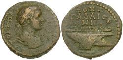 Ancient Coins - Gordian III (AD 238-244). Decapolis. Gadara Æ26 / Galley