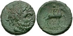 Ancient Coins - Thrace. Odessos Æ21 / Horseman