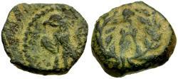 Ancient Coins - Kings of Nabataea. Aretas IV (9 BC-AD 40) Æ12 / Eagle