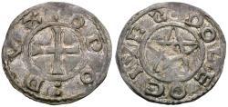 World Coins - France. Feudal. Berri-Deols (county). Eudes AR denier