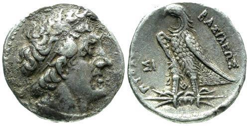 Ancient Coins - VF/VF Ptolemy II AR Tetradrachm