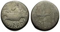 Ancient Coins - Roman Imperatorial. Mark Antony AR Denarius / Legion III