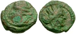 Ancient Coins - Kings of Parthia. Vologases III (AD 111-146) Æ Chalkon / Tyche